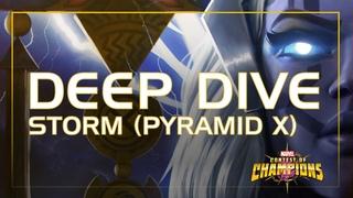 Шторм (Пирамида Икс) Глубокое Погружение: Сила Бурь и Удали | Marvel Contest of Champions
