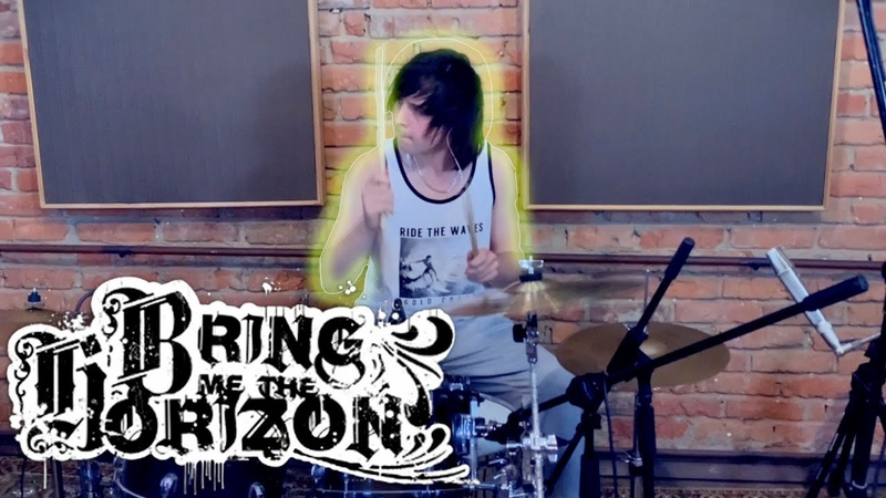 Bring Me The Horizon Parasite Eve Drum Bass Cover by MyEmiBow