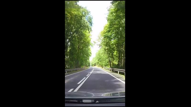 Автопутешествие по Польше Road trip in Poland Kostrzyn Chojna
