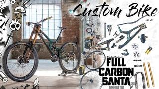 SICK BIKE BUILD 🛠 Santa Cruz V10 ➕ flip flop paint job⚡ Dream custom DH MTB Project