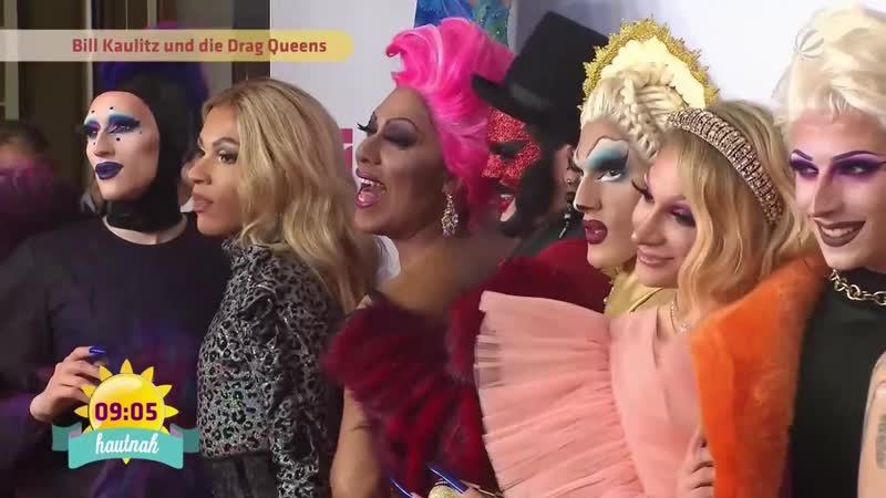 12.11.2019 - SAT.1 Frühstücksfernsehen - So war die Bunte Queen of Drags-Premiere