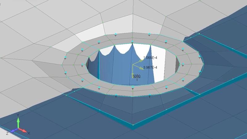 Femap 12 NX Nastran multi-step nonlinear solver