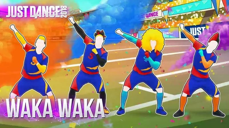 EXTREME RARE VIDEO Just Dance 2018 Waka Waka This Time For Africa 4 players