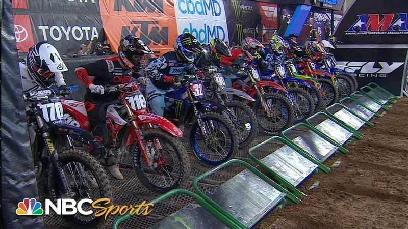 Supercross Round 4 in Glendale 250SX EXTENDED HIGHLIGHTS Motorsports on NBC
