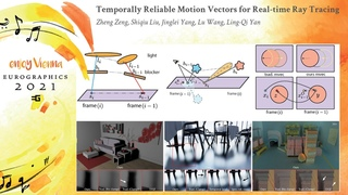 Temporally Reliable Motion Vectors for Real-time Ray Tracing   Eurographics'2021 Full Paper