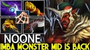 NOONE Troll Warlord Imba Monster Mid is Back Abyssal Blade is Good 7 23 Dota 2
