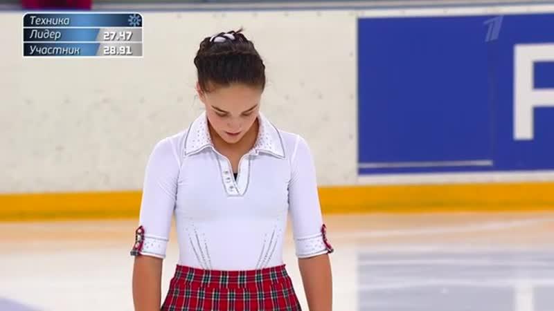Виктория Ющенкова Короткая программа Женщины Кубок России по фигурному катанию 2020 21