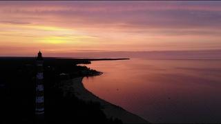 Osinovetsky Lighthouse, Lake Ladoga.