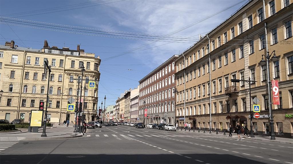Проспект на Петроградке