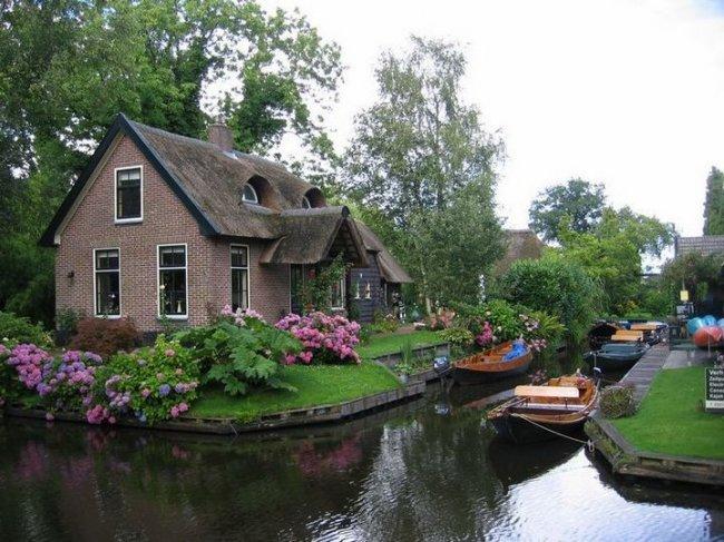 Гитхорн — деревня без дорог, изображение №15