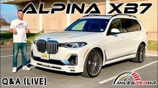 2021 Alpina XB7 Q&A (Live)