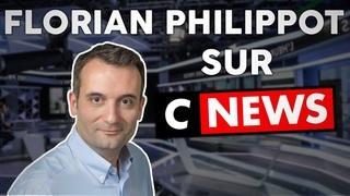 Florian Philippot sur CNews face à une macroniste qui veut enfermer les Français !