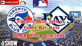 Toronto Blue Jays vs. Tampa Bay Rays    2020 MLB Season Opening Day   Predictions MLB The Show 20