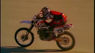 FOX MX's TERRAFIRMA 3 ft. Johnny Campbell with his Honda XR600R