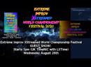 Extreme Improv XStreamed World Championship Festival 2020: NIC with LIIT