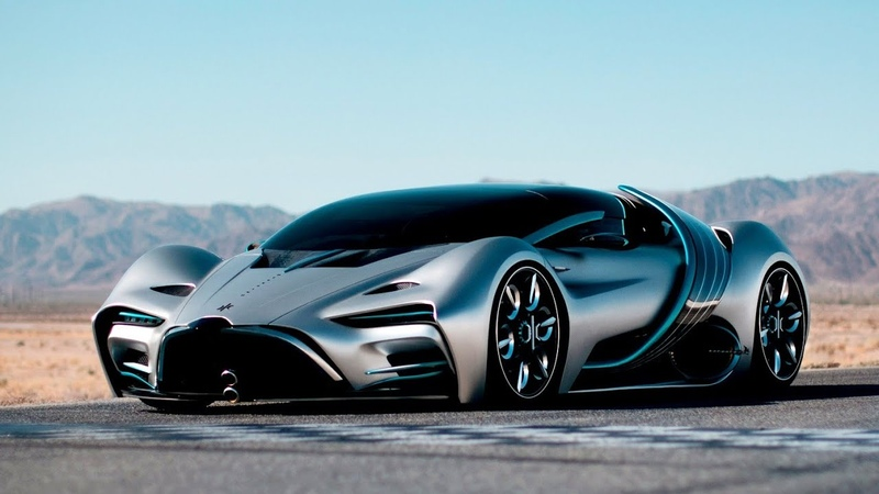 New Hyperion XP1 revealed 1st hydrogen electric supercar