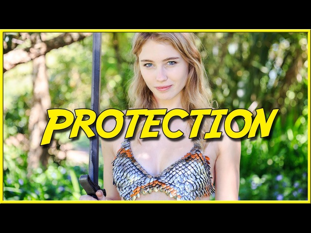 How skimpy female armor works - Protection