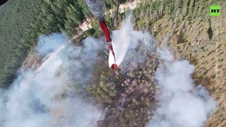 330 tonnes of water dropped on Karelia forest fires to curb the disaster