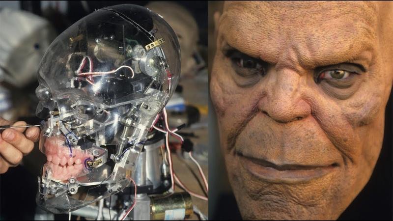 MORTAL KOMBAT Goro Mechanical Head Test
