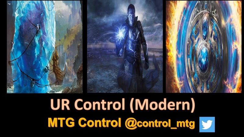 UR Control Decktech And Matches - Modern - MTG