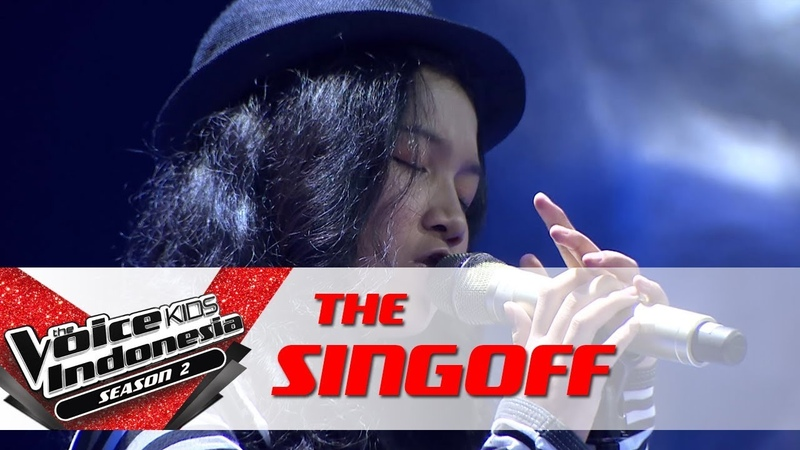 Aisya Yang Terlupakan | Sing Off | The Voice Kids Indonesia Season 2 GTV 2017