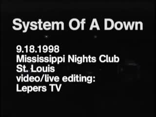18-09-98 St. Louis - Missisipi Nights Club