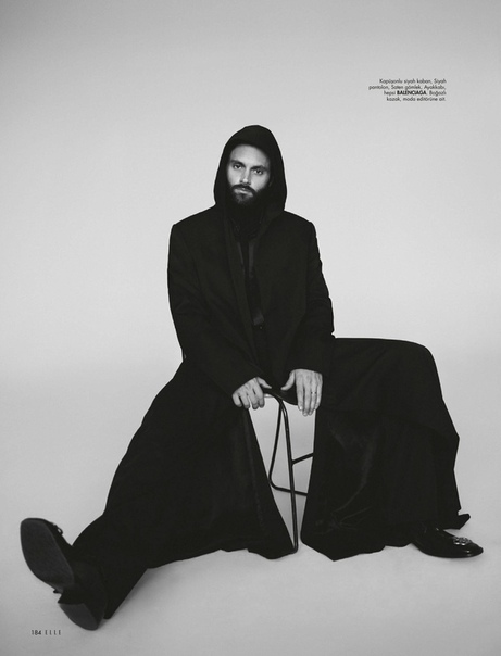 Пенн Бэджли для Elle Турция, Декабрь 2019