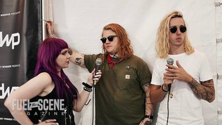 Interview with Aaron Gillespie and Spencer Chamberlain of UNDEROATH (Welcome to Rockville 2018)
