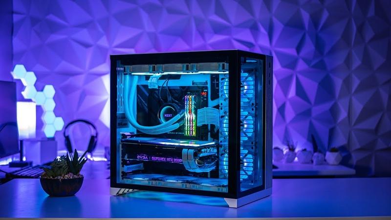 Lian Li Gaming PC Build Time Lapse