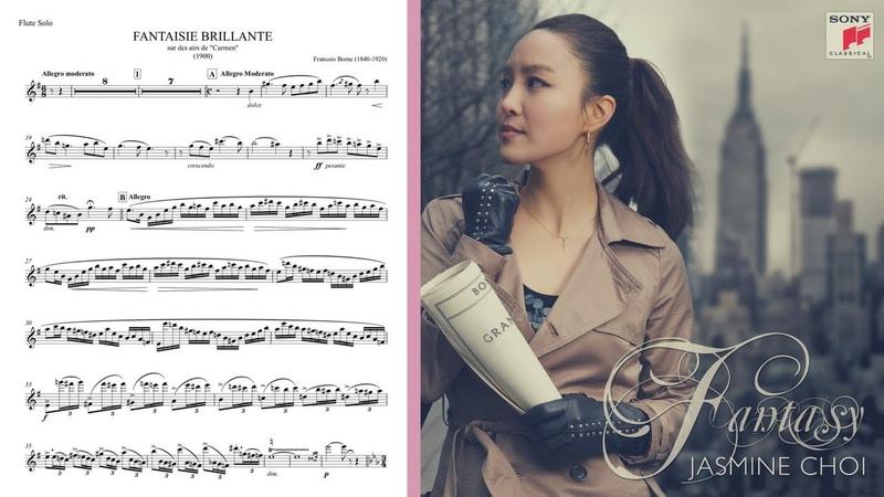 Carmen Fantasy with Flute Score - Jasmine Choi 최나경 카르멘 판타지 악보와 음반