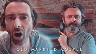 Michael Sheen and David Tennant being an old married couple for 18 minutes straight