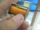 Намотка 20 000 витков 0,05мм провода на электромагнит
