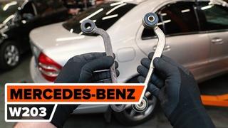 Как заменить задний рычаг подвески MERCEDES-BENZ W203 C-Class [ВИДЕОУРОК AUTODOC]