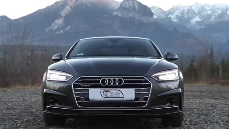 2017 Audi A5 Coupé NEW generation 2 0TFSI quattro in the Tatra Mountains