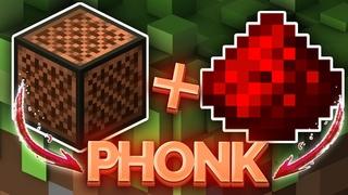 Сделал PHONK в Minecraft  из редстоуна и музыкального блока
