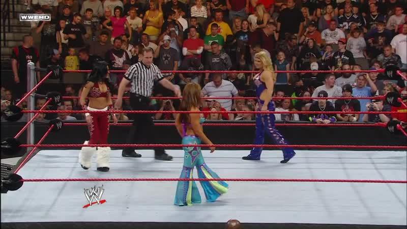 WM Микки Джеймс против Мелины против Бет Феникс Судный день 2008