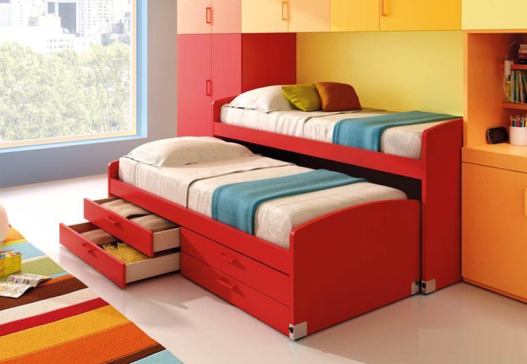 Плюсы и минусы двухъярусных выдвижных кроватей, популярные дизайны, изображение №26