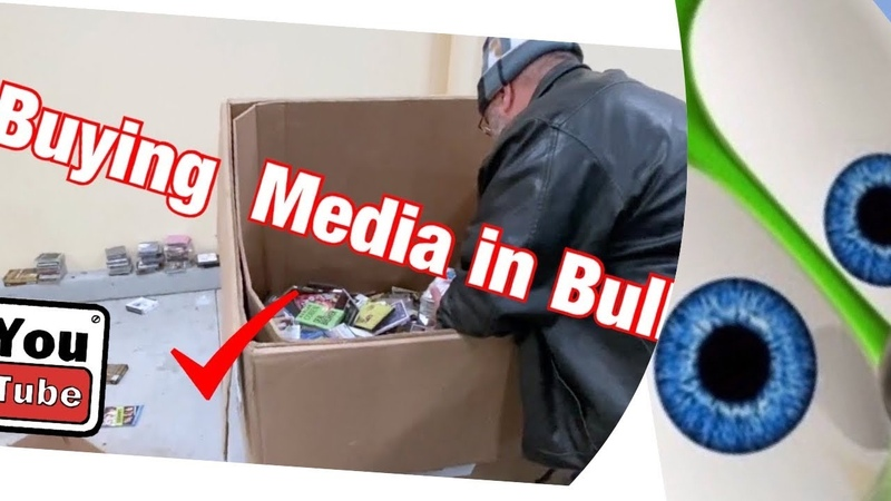 How to Buy Media Cds DvD Games in Bulk from Goodwill Outlet to Resell