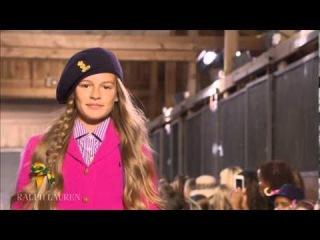 The Complete Ralph Lauren Fall 2013 Girls Fashion Show