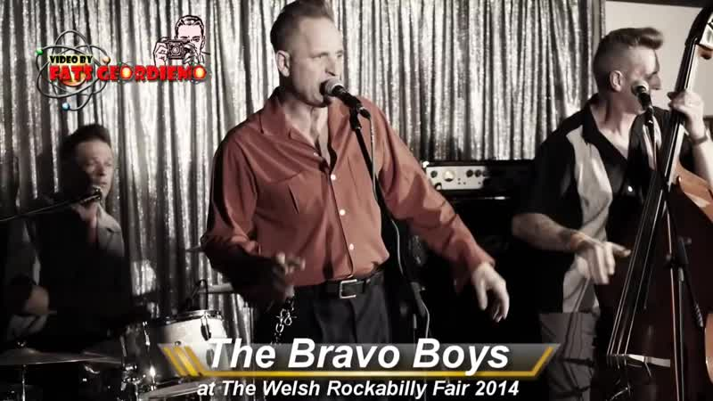 The Bravo Boys at The Welsh Rockabilly Fair 2014