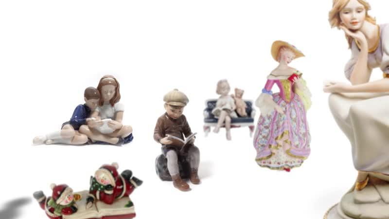 Фарфоровые истории библиотеки Толстого Алиса в Стране Чудес