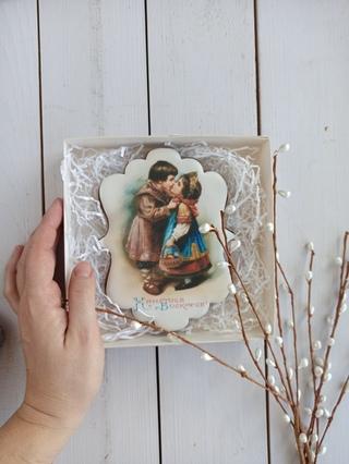 старинные открытки с пряниками интерьер
