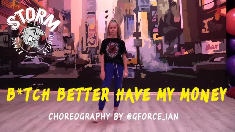 KSUSHA Rihanna B*tch better have my money Choreography by @gforce ian