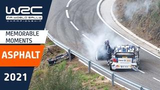 TOP MOMENTS - WRC on asphalt