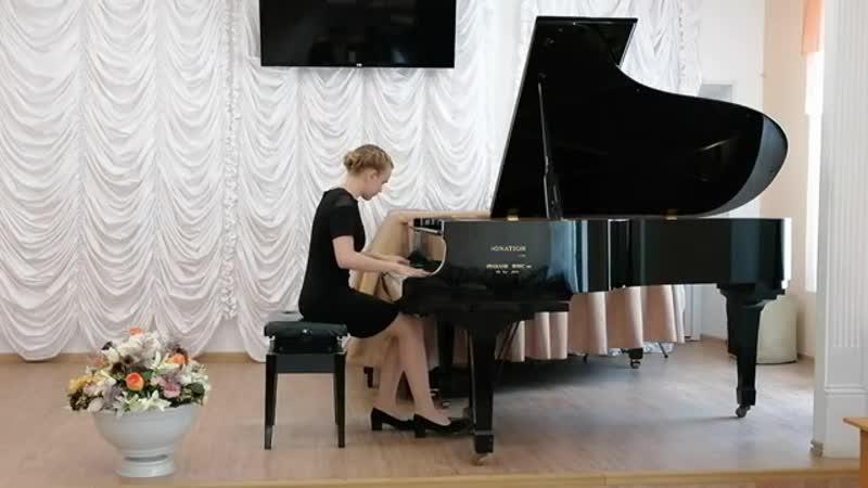 Щербина Софья Маратовна А К Лядов соч 57 1 Три прелюдии г Владивосток