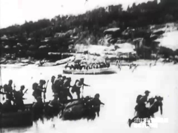 Gallipoli landing Hero of the Dardanelles 1915 film