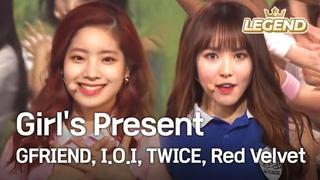 Girl's Present - GFRIEND, , TWICE, Red Velvet