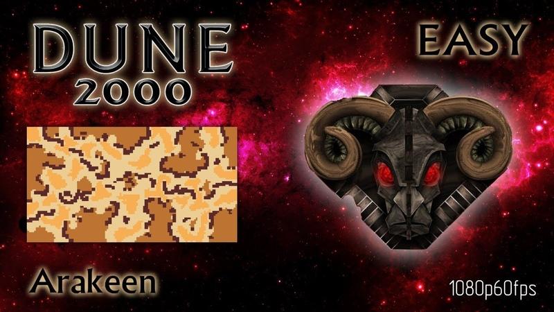 Dune 2000 Skirmish Arakeen Harkonnen Easy 1080p60fps
