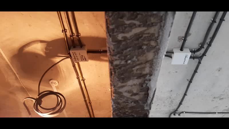 Монтаж электрики 3 х комнатной квартиры Чебоксары