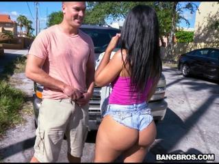 Huge tits latina cam